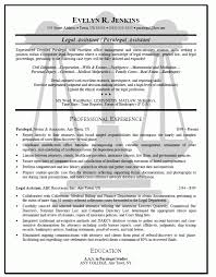 Sample Of Paralegal Resume by Real Estate Paralegal Resume Contract Paralegal Resume Samples