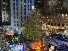rockefeller center tree thanksgiving