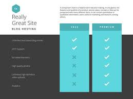 teal simple comparison chart templates by canva