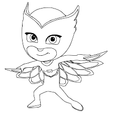 pj masks coloring sheets for kids coloring pages for kids on