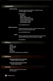 Vfx Jobs Resume by 3d Character Animator Resume Format Virtren Com