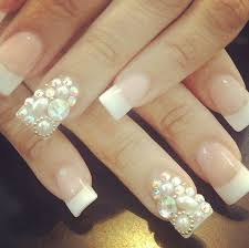 fancy french nail designs how you can do it at home pictures