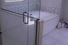 pivot shower tub doors wayfair 60 x 30 semi frameless bathtub