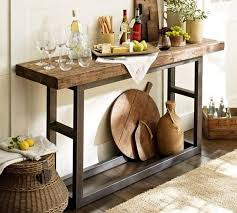 pottery barn bar table 25 mini home bar and portable bar designs offering convenient space