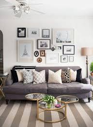 ambiance canape déco salon gris 88 idées pleines de charme