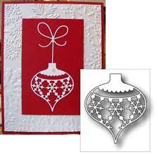 snow die cut snowflake ornament diecut
