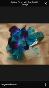 blue orchid corsage wedding prom flowers a whiting flower shoppe whiting nj