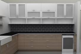 Kitchen  Charming Replace Home Kitchen Cabinet Door Ideas - Kitchen cabinets with frosted glass doors