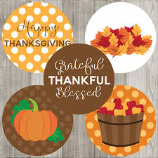 50 thanksgiving sticker labels with different fall autumn graphics