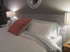 fabric covered canvas as headboard bedroom decor pinterest
