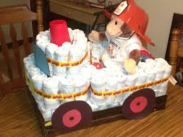diaper fire truck heather and i made this for maranda u0027s baby