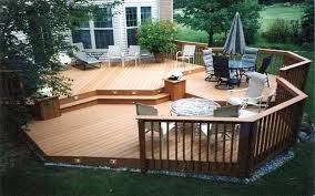 Inexpensive Small Backyard Ideas Backyard Small Deck Ideas Decorating Home Wooden Patio For On A