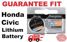 nissan sentra key fob battery honda civic 2014 2017 smart key fob battery replacement remote