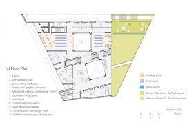 reading floor plans gallery of green square library u0026 plaza design competition entry