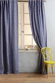 Moorish Tile Curtains Moorish Tile Curtain In Indigo