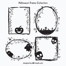 halloween frame vectors photos and psd files free download