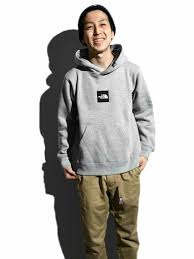 square logo big hoodie reentry load the north face plus amu