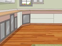 how to remove mold stains from wood floors with pictures