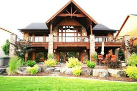 ranch house plans with walkout basement vacation home plans with walkout basement walkout basements plans by