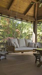 Patio Swings And Gliders Best 25 Rustic Porch Swings Ideas On Pinterest Wrap Around Deck