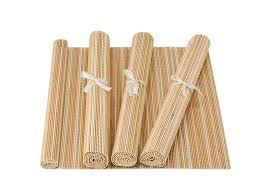 table runner or placemats furniture meradiso bamboo table runner or placemats lidl great