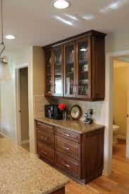 granite countertop transform kitchen cabinets tin backsplash