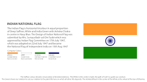 Flag If India Indian Flag Manual