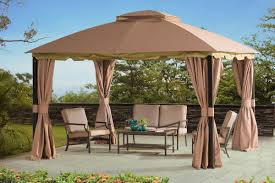 sunjoy pine canopy 10 ft w x 12 ft d metal permanent canopy
