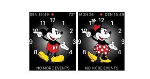 watchos 3 mickey minnie mouse speak