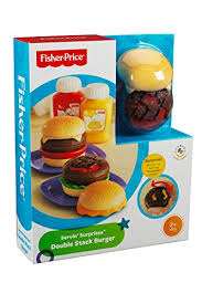 Fisher Price Servin Surprises Kitchen Table by Fisher Price Servin U0027 Surprises Cook U0027n Serve Kitchen Hamburger