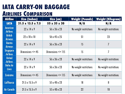 united airline carry on iata introduces international carry on bag guidelines