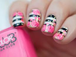 valentine u0027s roses nail art tutorial paulina u0027s passions