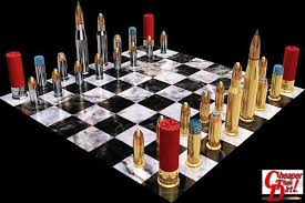 unique chess sets for sale chess set for gun guys great concept daily bulletin