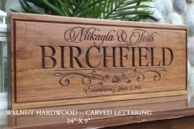 custom wedding presents personalized wedding gift for the and groom gift
