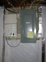 they had to work around the circuit breaker and fios boxes