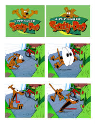 a pup named scooby doo cartoonatics scooby u0027s first wild take