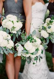 wedding flowers eucalyptus hydrangea wedding bouquets white hydrangea bouquet hydrangea