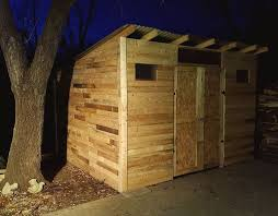 How To Build A Wooden Shed From Scratch by Pallet Shed 9 Steps With Pictures