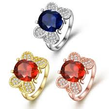 butterfly crystal rings images Jewelry zircon crystal ring butterfly designer imitate infinity jpg