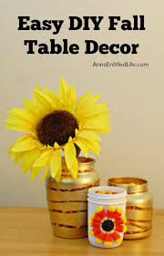 Fall Table Decor Easy Diy Fall Table Decor Vertical Jpg