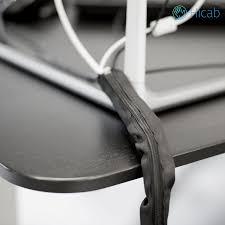 Schreibtisch 2m Lang Hicab Kabelschlauch Mit Reißverschluss Kabelkanal 120cm Lang