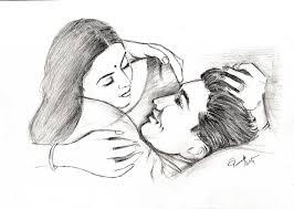 pencil drawing romantic pics cute love drawings pencil art hd
