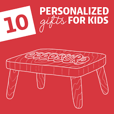 personalized gifts for the 10 coolest personalized gifts for kids dodo burd