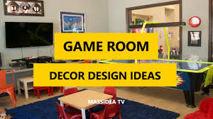 45 cool game room decor and design ideas pictures 2017 youtube