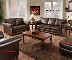 san diego dining room furniture amazon com san diego coffee leather sofa u0026 loveseat living room