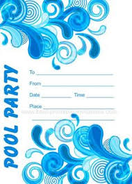 pool party invitations printable pool party invitations printable pool party invitations