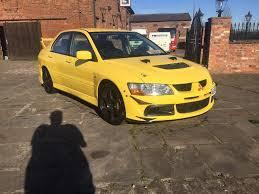 mitsubishi yellow mitsubishi lancer evo 8 fq 260 350bhp evo viii low miles full