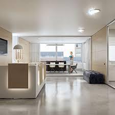Double Reception Desk by Glass Reception Desk Mdf Wall System Arcadia