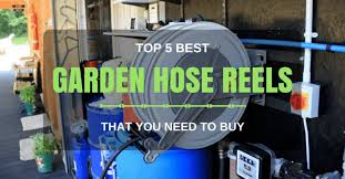 best garden hose reel 2018 reviews top 5 hose reels must have