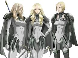 claymore seven ghosts claymore claymore pinterest anime manga and comic